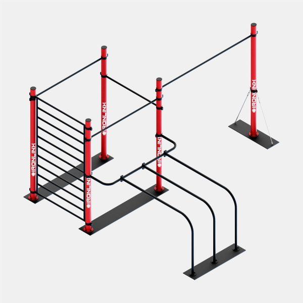 Strutture autoportanti calisthenics – IRONLINK – Cubo A S P Freestyle