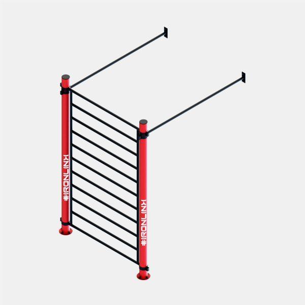Strutture a muro calisthenics – IRONLINK – Cubo W S