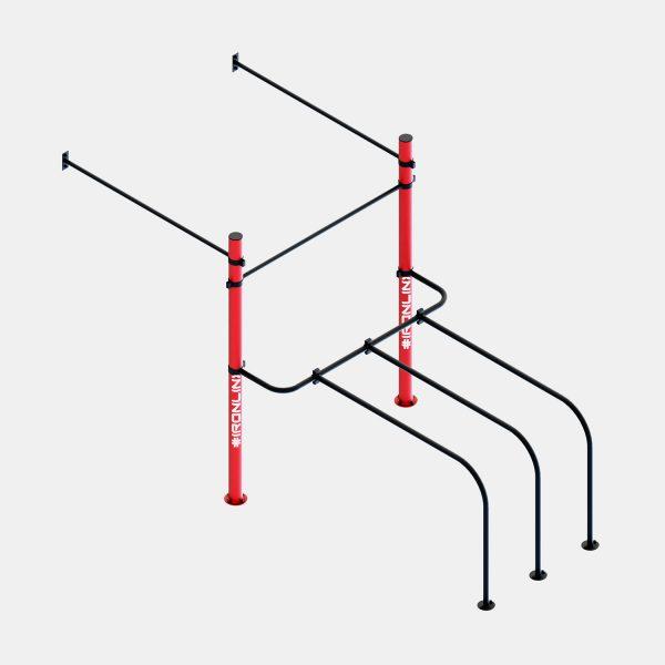Strutture a muro calisthenics – IRONLINK – Cubo W P
