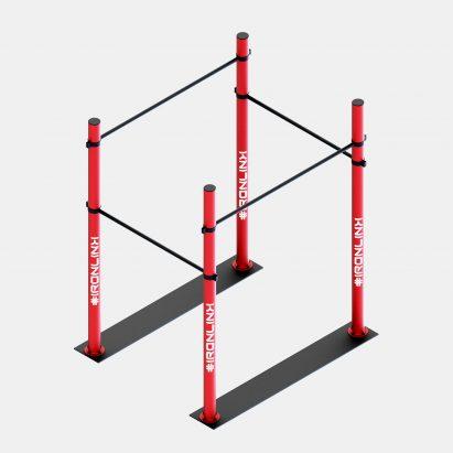Strutture autoportanti calisthenics – IRONLINK – Cubo A