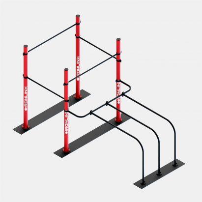 Strutture autoportanti calisthenics – IRONLINK – Cubo A P