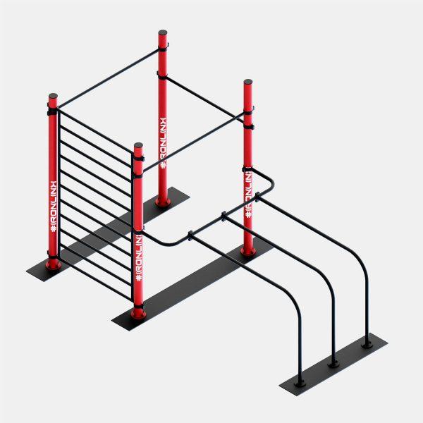 Strutture autoportanti calisthenics – IRONLINK – Cubo A S P