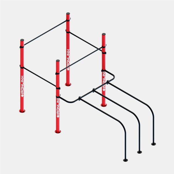 Strutture fisse calisthenics – IRONLINK – Cubo P