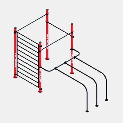 Strutture fisse calisthenics – IRONLINK – Cubo S P