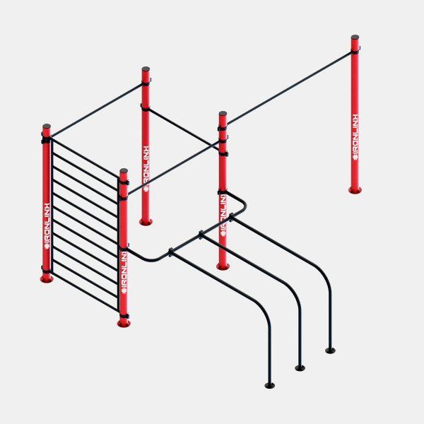 Strutture fisse calisthenics – IRONLINK – Cubo S P Freestyle