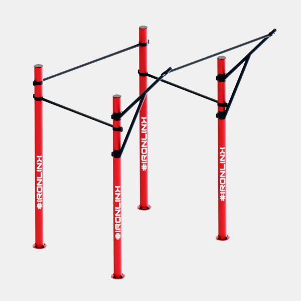 Strutture fisse calisthenics – IRONLINK – Traction 180